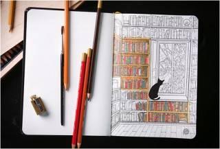 Coloring Notebook   Caderno para Colorir - Imagem - 4