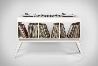 Mesa/Estante Com.Four DJ