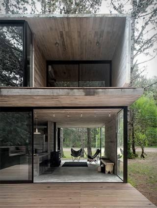 Arquitetura - Casa H3 - Estrutura de Concreto - Imagem - 3