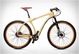 BICICLETA DE MADEIRA - CONNOR WOOD BICYCLES