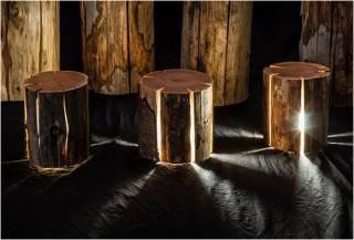 SISTEMA DE ILUMINAÇÃO LED CRACKED LOG LAMPS - Imagem - 2