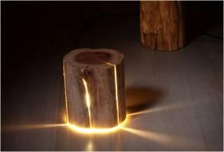 SISTEMA DE ILUMINAÇÃO LED CRACKED LOG LAMPS - Imagem - 4