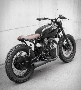 Uma das Motos Mais Vendidas do Mundo - Crooked Yamaha XS400 - Imagem - 4