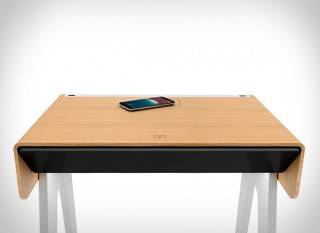 Mesa de Cabeceira Inteligente Curvilux - Imagem - 2