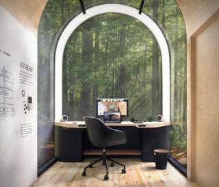 Escritório Pré-Fabricado para Trabalhar em Casa - DENIZEN REMOTE OFFICE - Imagem - 2