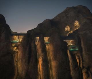 Novo Resort nas Montanhas da Arábia Saudita - DESERT ROCK HOTEL - Imagem - 4