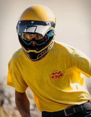 Capacetes Deus Django Vintage MX Helmet - Imagem - 4