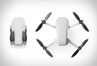Drone DJI Mini 2 - Tamanho da palma da mão agora voa mais longe