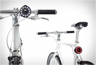 LUZES DE BICICLETA - DOUBLE O BIKE LIGHT
