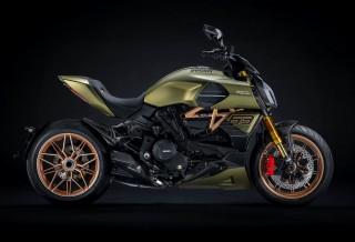 Moto Lamborghini Ducati Diavel 1260