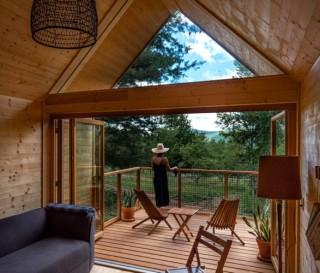 Glamping é a Combinação de Glamour e Camping - EASTWIND CATSKILLS RETREAT - Imagem - 5