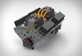 Motor Elétrico para carro convencional - Electric GT EV-Conversion Crate Motor