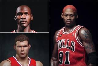 BONECOS HIPER REALISTAS DA NBA - HYPER REALISTIC NBA COLLECTION