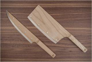 FACA DE MADEIRA - MAPLE SET KNIVES