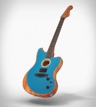 Guitarra FENDER AMERICAN ACOUSTASONIC JAZZMASTER - Imagem - 4
