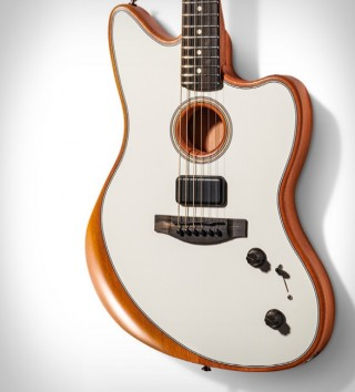 Guitarra FENDER AMERICAN ACOUSTASONIC JAZZMASTER - Imagem - 2