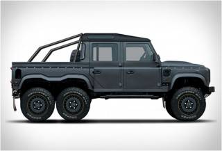 Pickup Monstruosa de Cabine Dupla 6x6 - Flying Huntsman