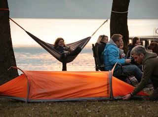 Barraca de acampamento em forma de Rede - FLYING TENT - Imagem - 2