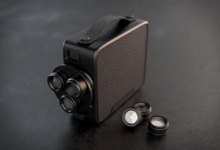 A Câmera Fragment 8 Retro tem o objetivo de reviver as câmeras super 8