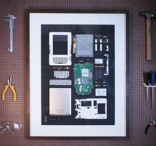 Quadros com Tecnologias Emolduradas - Imagem - 5