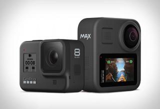 CÂMERAS DE AÇÃO - GoPro Hero8 & GoPro Max