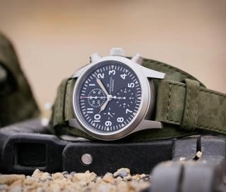 Relógio Militar Masculino - Hamilton Khaki Field Auto Chrono Watch - Imagem - 4
