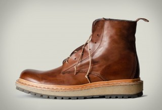 HARDGRAFT BIG BROWN BOOTS