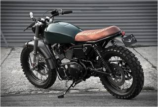 Moto Personalizada Harley Davidson Scrambler H-1 - Imagem - 2
