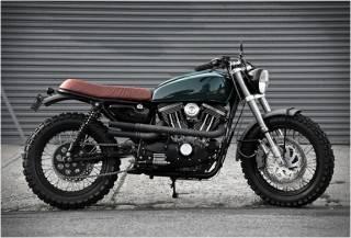 Moto Personalizada Harley Davidson Scrambler H-1
