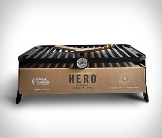 HERO GRILL - Portátil com Sistema Ecológico - Imagem - 3