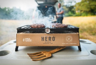HERO GRILL - Portátil com Sistema Ecológico