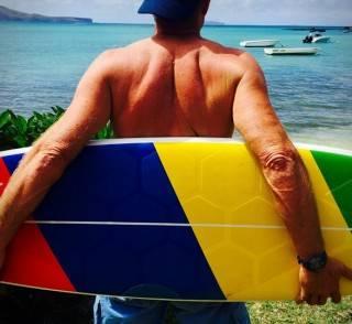 Autoadesivo para Prancha de Surf HexaTraction - Imagem - 5