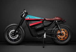 Moto HONDA ELECTRIC CAFE RACER