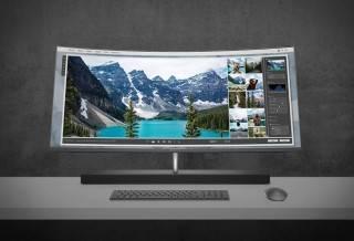 """HP Envy Curve AIO 34"""" Desktop"""
