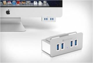 HUB DA SATECHI PARA RESOLVER O PROBLEMA DAS PORTAS USB DO IMAC