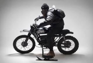 Moto Husqvarna 256 Thage
