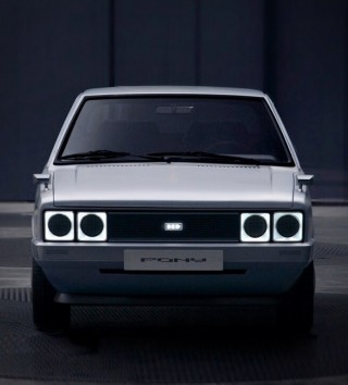 Hyundai Pony Heritage EV - Imagem - 2