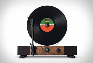 RADIOLA VERTICAL - FLOATING RECORD VERTICAL TURNTABLE