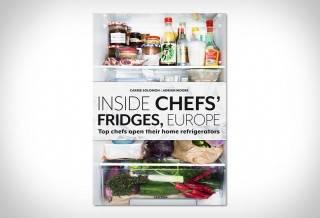 Livro Geladeiras dos Chefs Europeus | Inside Chefs Fridges