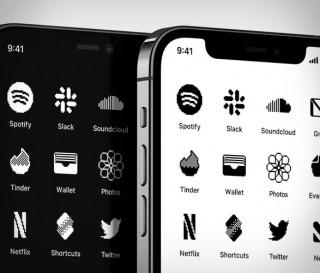 Ícones da tela inicial do iPhone - iOS Retro Icon Set - Imagem - 2