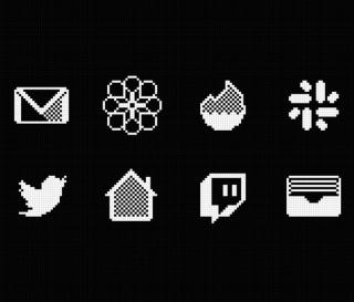 Ícones da tela inicial do iPhone - iOS Retro Icon Set - Imagem - 5