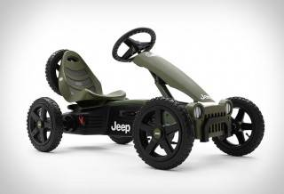 Jeep Pedal Go Kart
