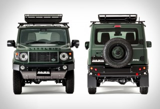 JIMNY DEFENDER BODY KIT
