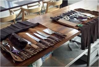 ESTOJO DE FACAS PERSONALIZADO - GOODSON LEATHER KNIFE ROLL - Imagem - 5
