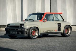 Carro de Rally da Renault - LEGENDE AUTOMOBILES TURBO 3