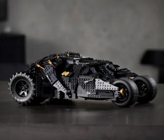 O Veículo Mais Legal do Batman - LEGO BATMOBILE TUMBLER - Imagem - 4