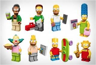 LEGO MINIATURAS SIMPSONS