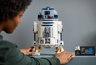 Lego Super Detalhado do Personagem Robô R2-D2 do Star Wars
