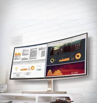"""Monitor 38"""" LG 21:9 Curvo IPS Ultrawide™ WQHD - Imagem - 5"""