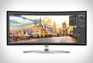 "Monitor 38"" LG 21:9 Curvo IPS Ultrawide™ WQHD"